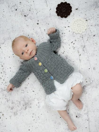 Babytrøje med rundt bærestykke