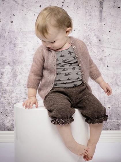 Pige cardigan (baby/børn)