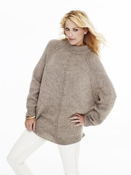 Sweater-poncho