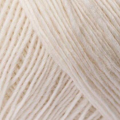 Soft Organic Wool+Nettles, råhvid
