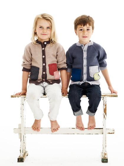 Børnehavecardigan (børn)