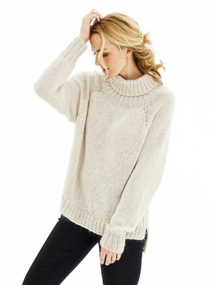 Oversize raglansweater
