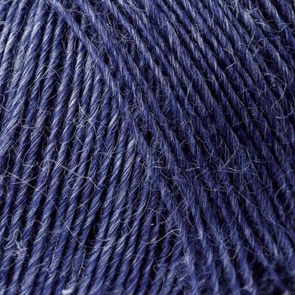 Soft Organic Wool+Nettles, jeansblå