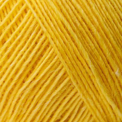 Soft Organic Wool+Nettles, gul