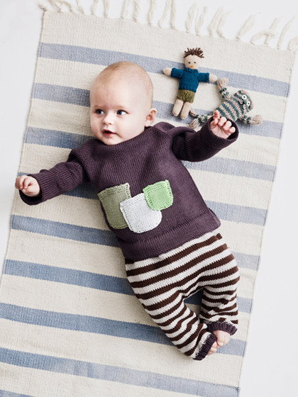 Baby bluse med lommer (baby)
