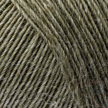 Soft Organic Wool+Nettles, oliven grøn