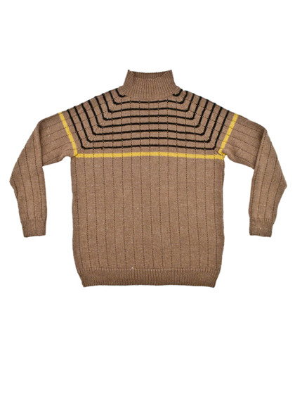 Herresweater med struktur