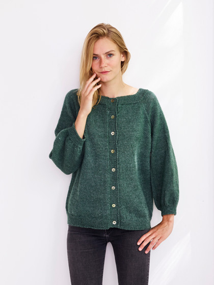Nettle Sock Yarn Cardigan