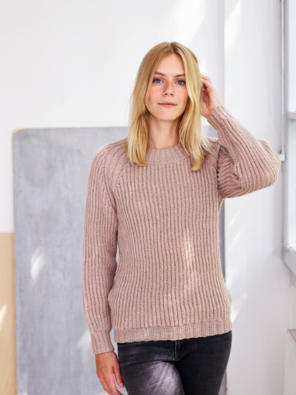 Patentstrikket sweater