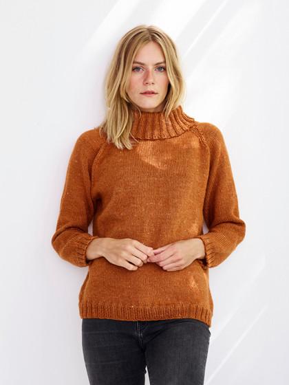 Anna - Sweater med krave-PDF