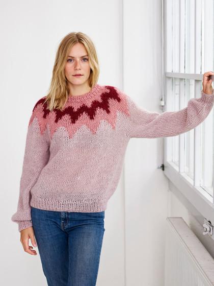 Nordic Mohair Sweater-PDF