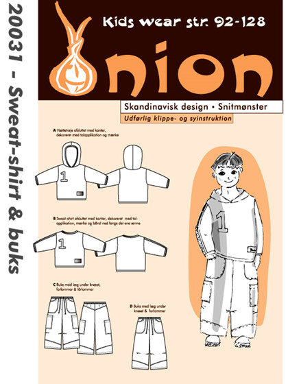 Snitmønster,  Sweat-shirt & buks