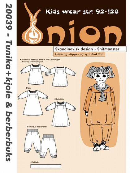 Snitmønster, Tunika + kjole & berberbuks