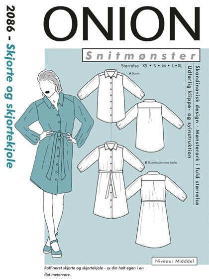 Snitmønster, Skjorte og skjortekjole