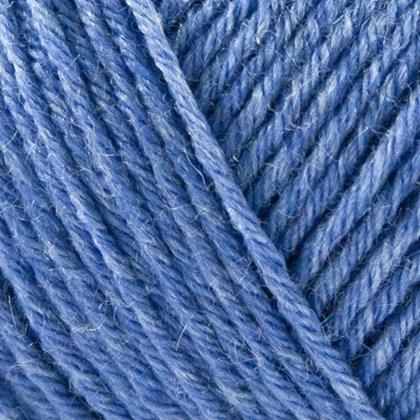 Tussah Silk, havblå