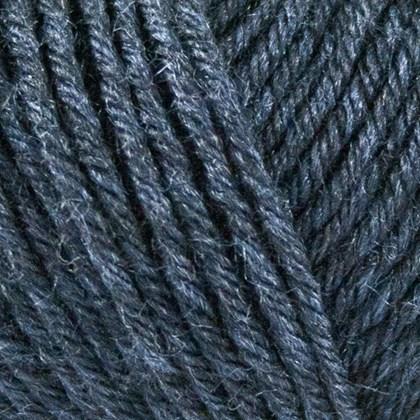 Tussah Silk, mørk blå