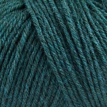 Tussah Silk, safir grøn