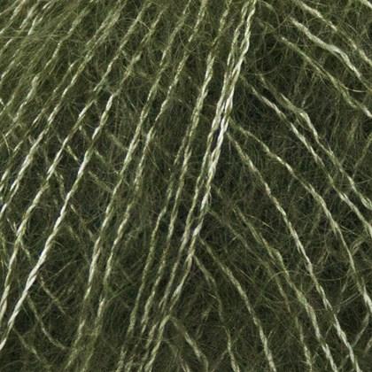 Silk+Kid Mohair, grøn oliven