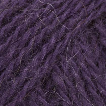 Mohair+Wool, mørk lilla