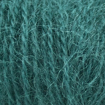Mohair+Wool, grøn petrol