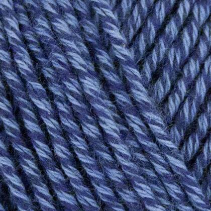 Fino Organic Cotton + Merino Wool, jeans blå
