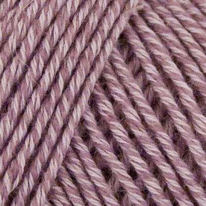 Fino Organic Cotton + Merino Wool, lys lilla