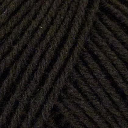 Fino Organic Cotton + Merino Wool, sort