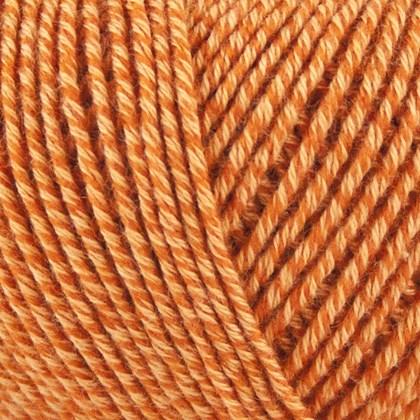 Fino Org. Cotton+Merino Wool, orange