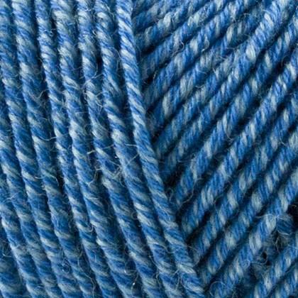 Fino Organic Cotton+Merino Wool, skyblå