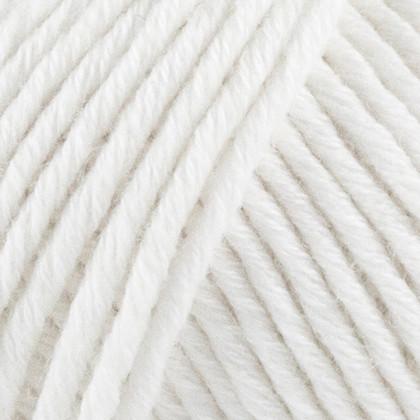 Fino Organic Cotton + Merino Wool, hvid