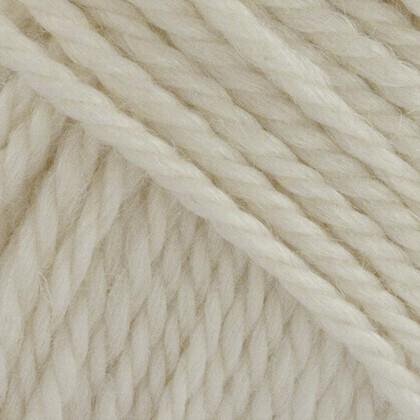 No.6 Organic Wool+Nettles, råhvid