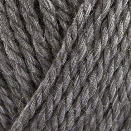 No.6 Organic Wool+Nettles, mørk grå