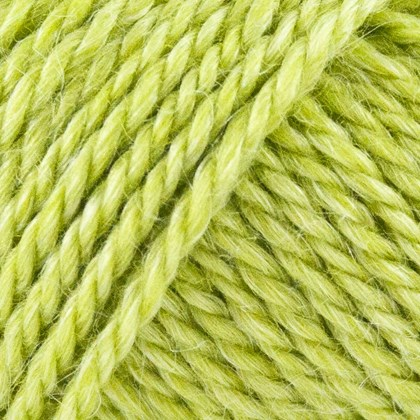 No.6 Org. Wool+Nettle Fibers, lime