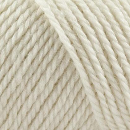 No.4 Organic Wool+Nettles, råhvid