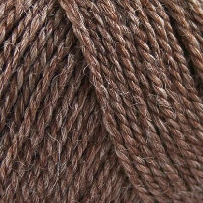 No.4 Organic Wool+Nettles, brun