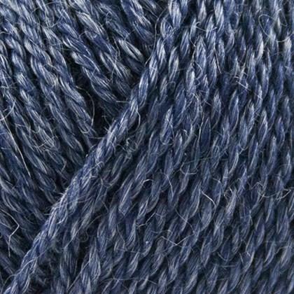 No.4 Organic Wool+Nettles, jeans blå