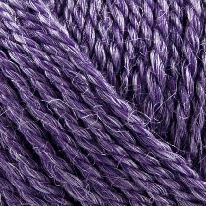 No.4 Organic Wool+Nettles, mørk lilla
