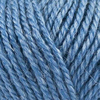No.4 Organic Wool+Nettles, blå