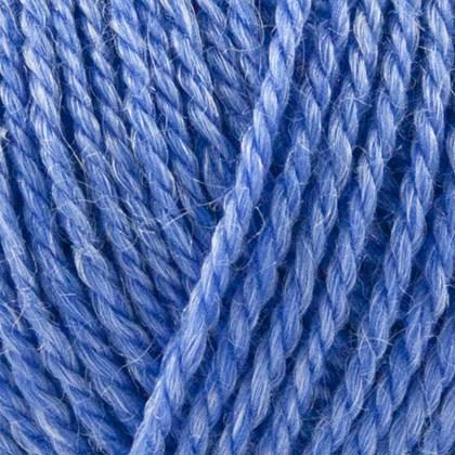 No.4 Organic Wool+Nettles, havblå