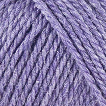 No.4 Organic Wool+Nettles, lavendel lilla