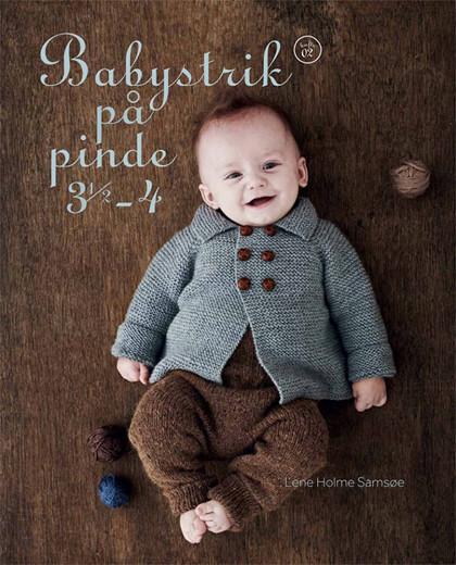 Babystrik på pinde 3,5-4, Lene Holme Samsøe