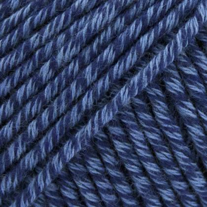 Organic Cotton+Merino Wool, blå jeans