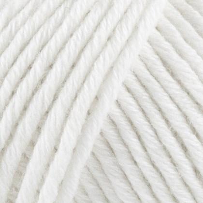 Organic Cotton+Merino Wool, hvid