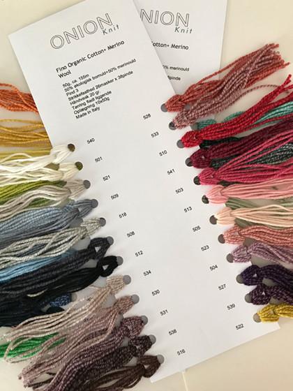 Farvekort, Fino Organic Cotton+Merino Wool