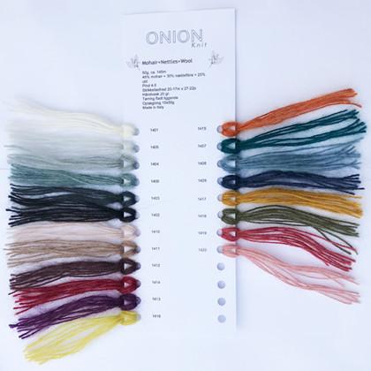 Farvekort, Mohair+Nettles+Wool