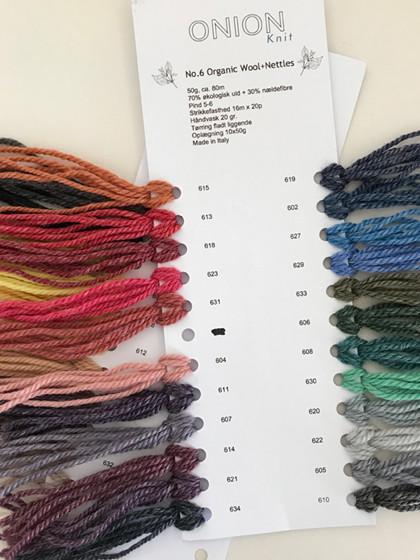 Farvekort, No. 6 Organic Wool+Nettles