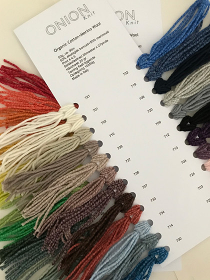 Farvekort, Organic Cotton+Merino Wool