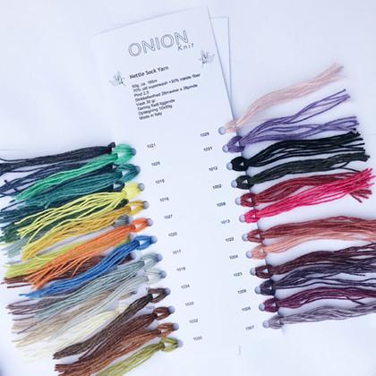 Farvekort, Nettle Sock Yarn