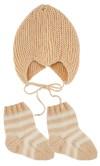 Djævlehue & Babysokker med nem hæl (baby)