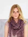 Sille - Sjal/tørklæde i netmønster